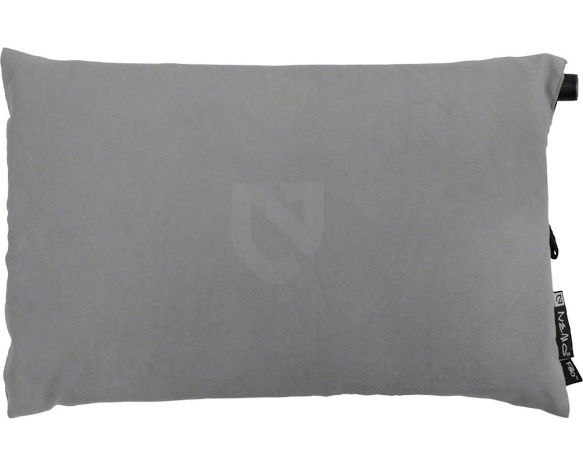 Nemo Equipment, Inc. Fillo Camp Pillow, Nimbus Gray