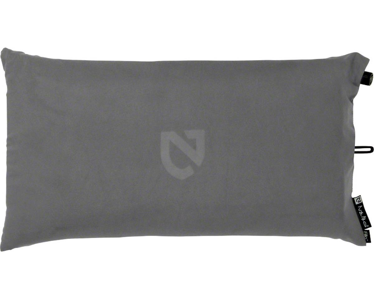 Nemo Equipment, Inc. Fillo Luxury Camp Pillow, Nimbus Gray