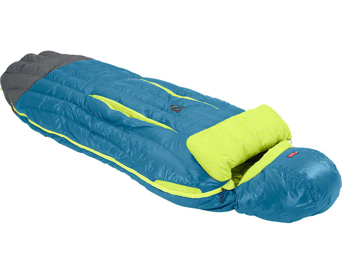 Nemo Disco 15 Sleeping Bag (Deep Sea/Keylime) (650 FP Down w/ Nikwax) (L)