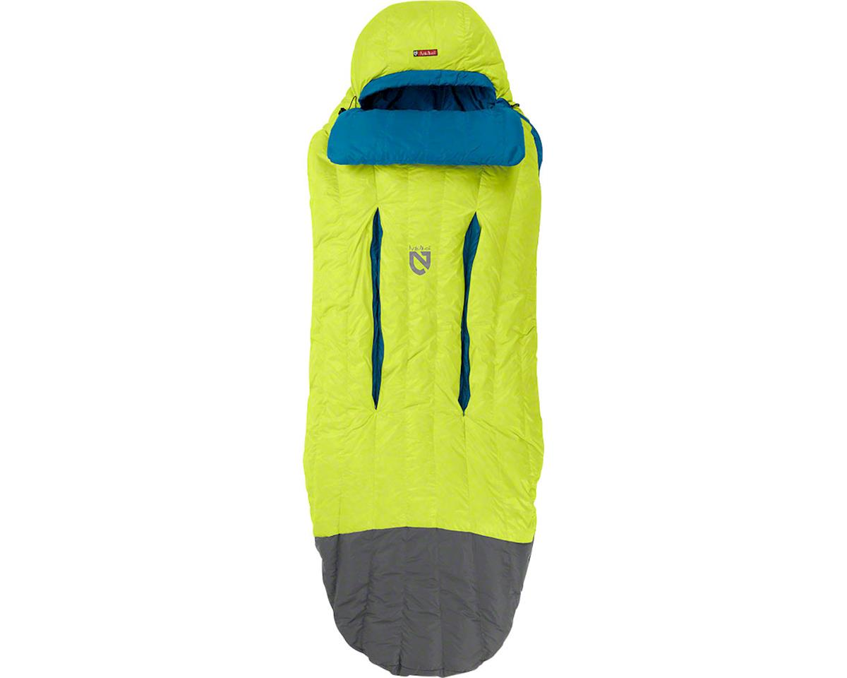 Nemo Disco 30 Sleeping Bag (Deep Sea/Keylime) (650 FP Down w/ Nikwax) (L)