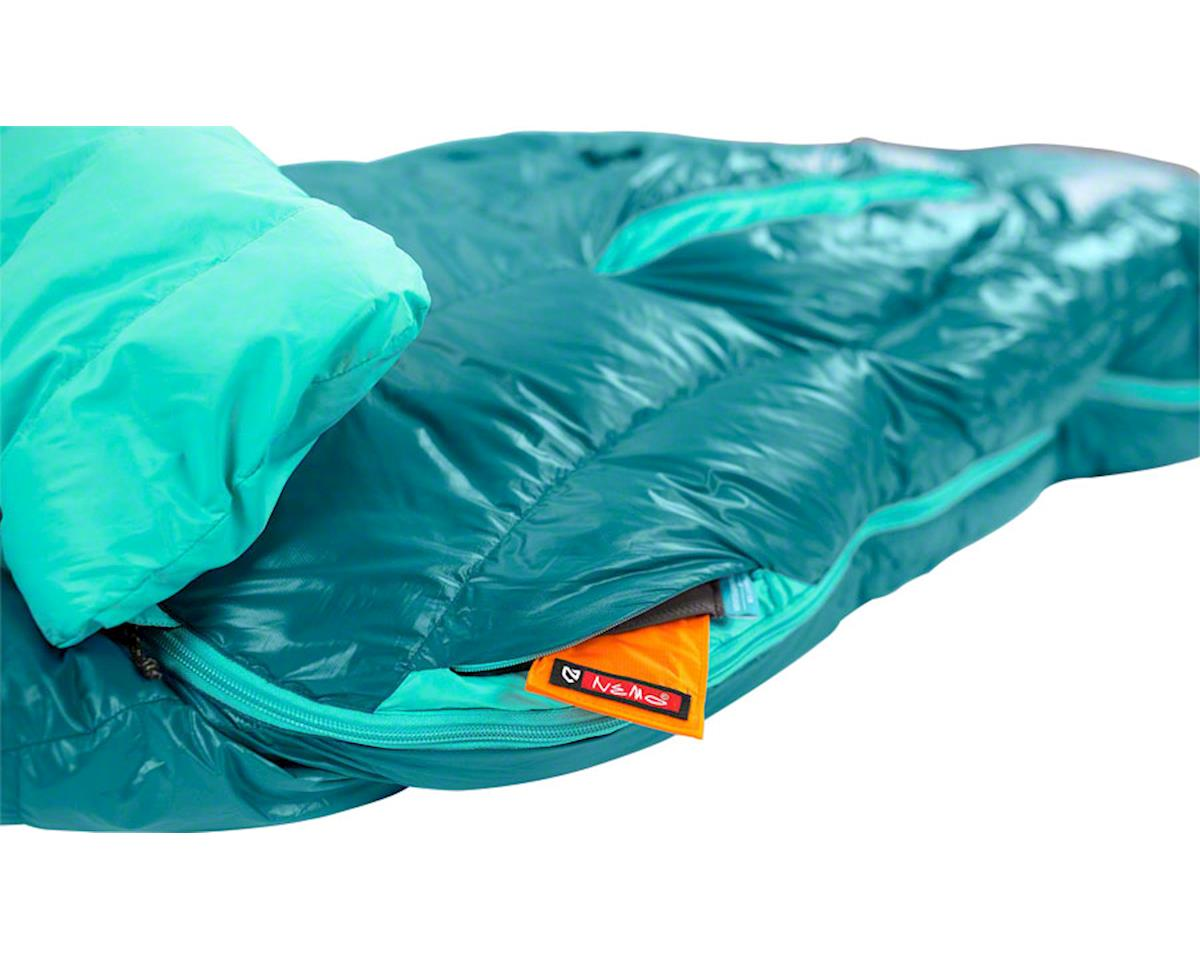 Nemo Equipment, Inc. Rave 15 Women's Sleeping Bag, 15F, 650fill Power Down with