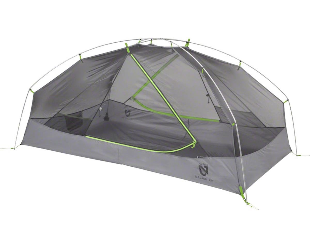 Equipment, Inc. Galaxi 3P Shelter with Footprint: Birch Leaf Green, 3-perso