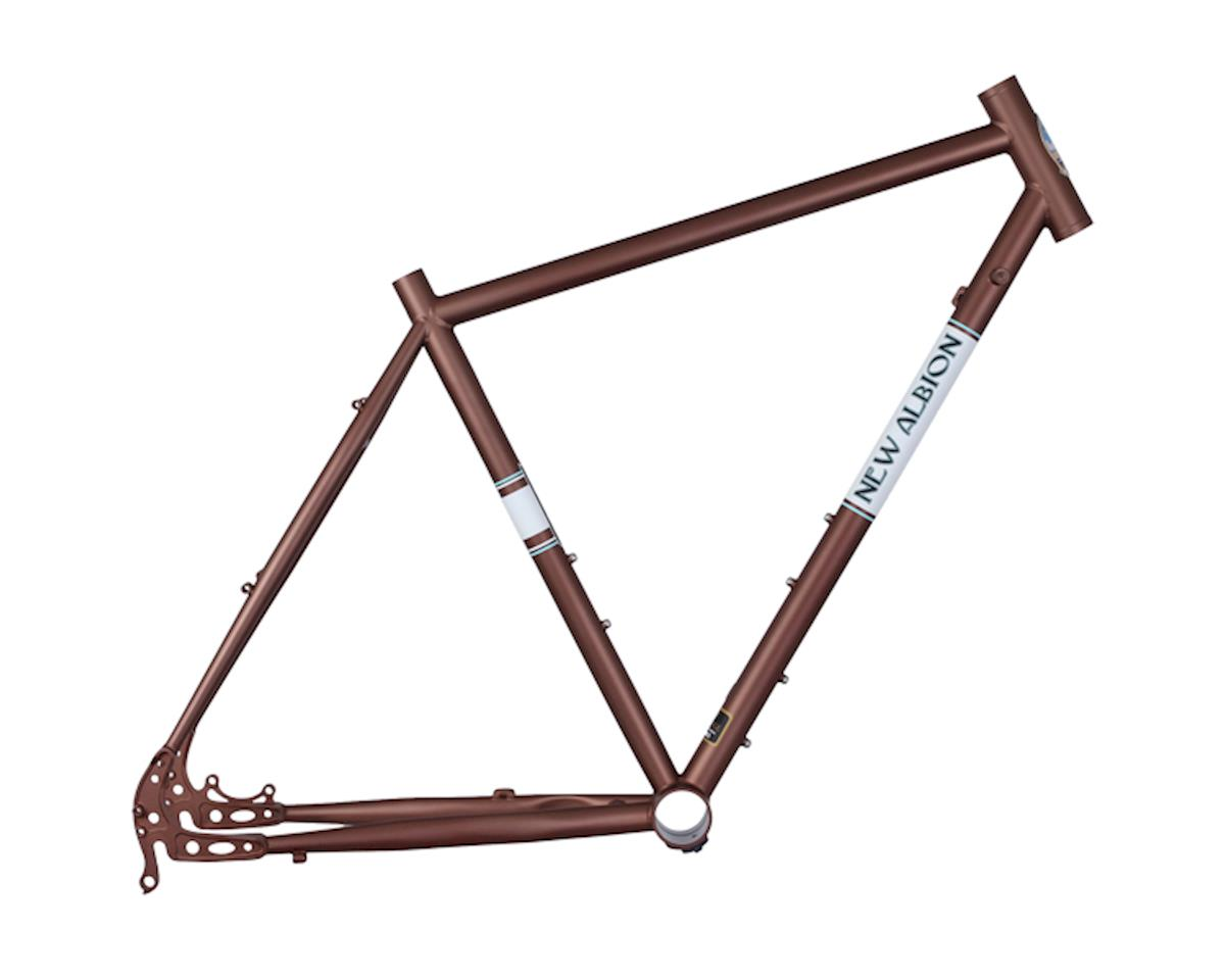 New Albion Drake disc frame - brown (48cm)