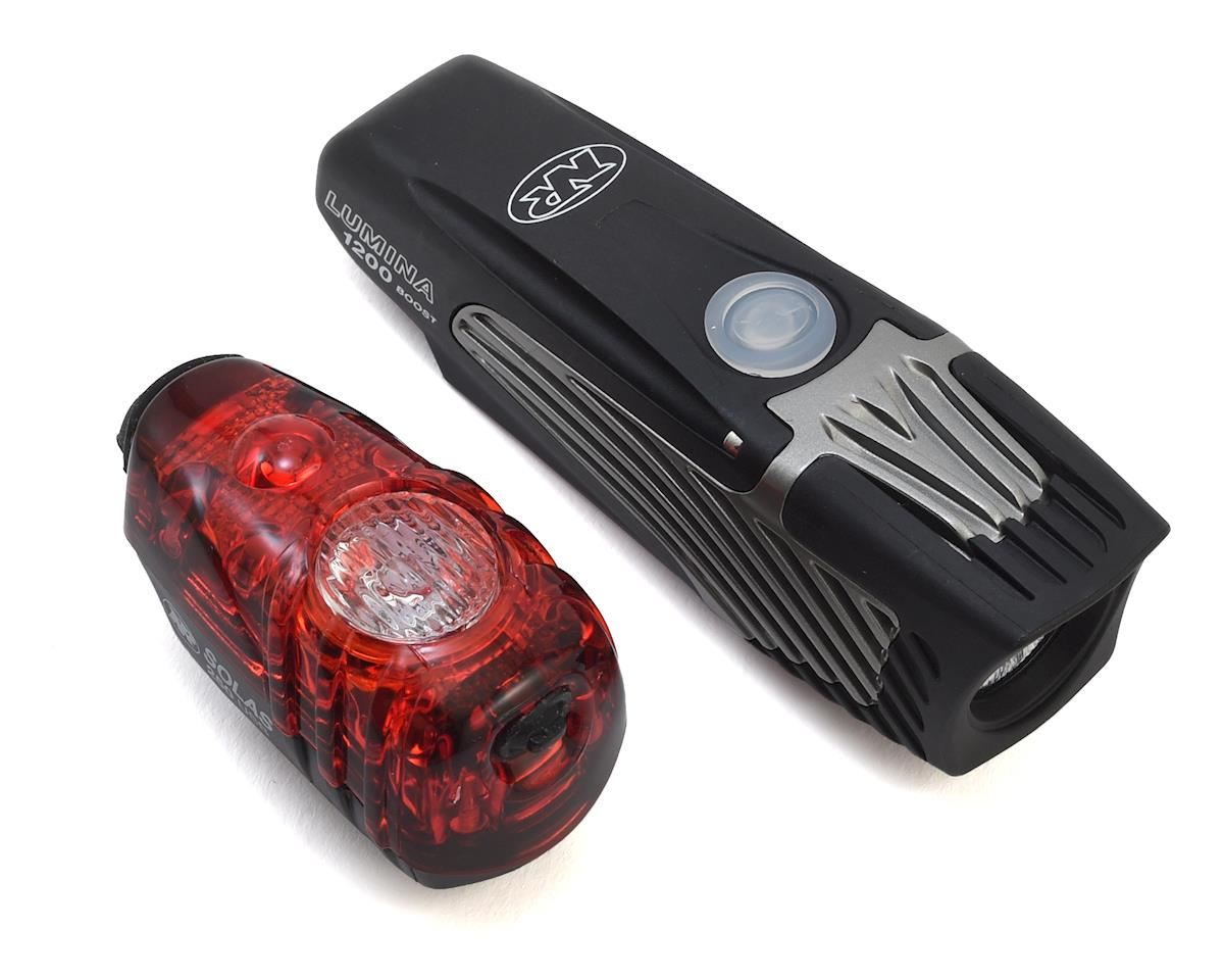 NiteRider Lumina 1200 Boost Head Light & Solas 250 Tail Light Combo
