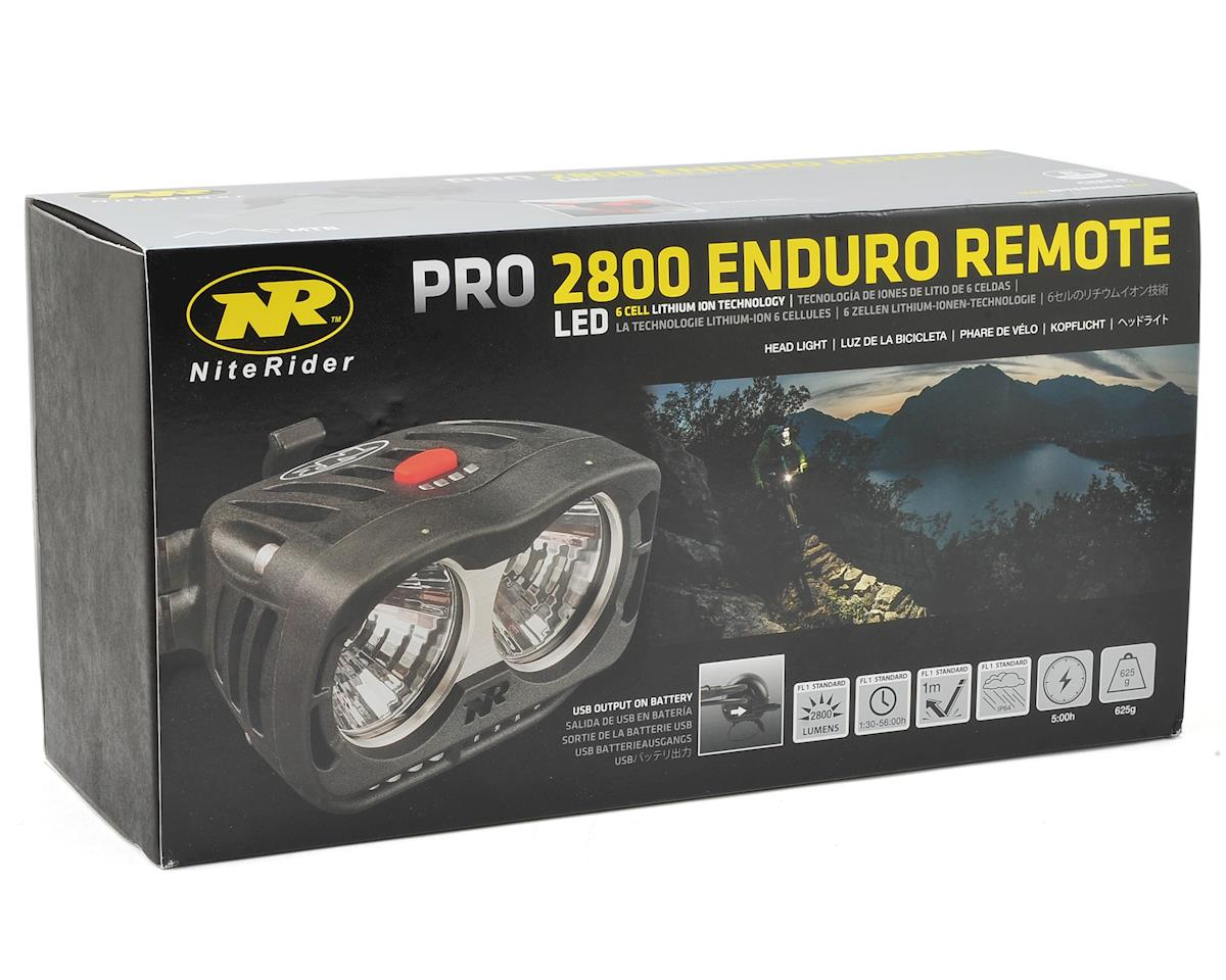 NiteRider Pro 2800 Enduro Remote Head Light