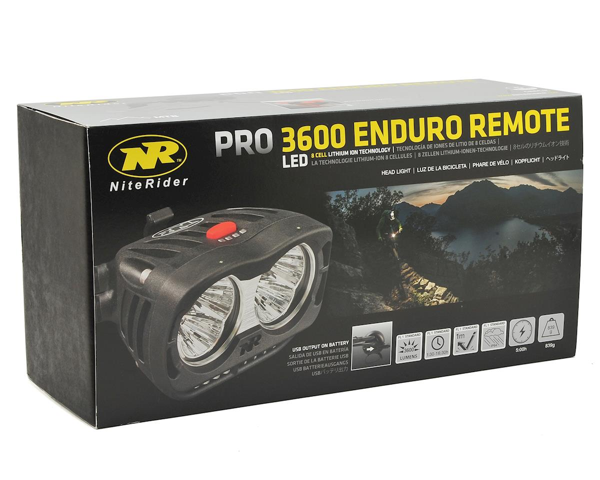 NiteRider Pro 3600 Enduro Remote Head Light
