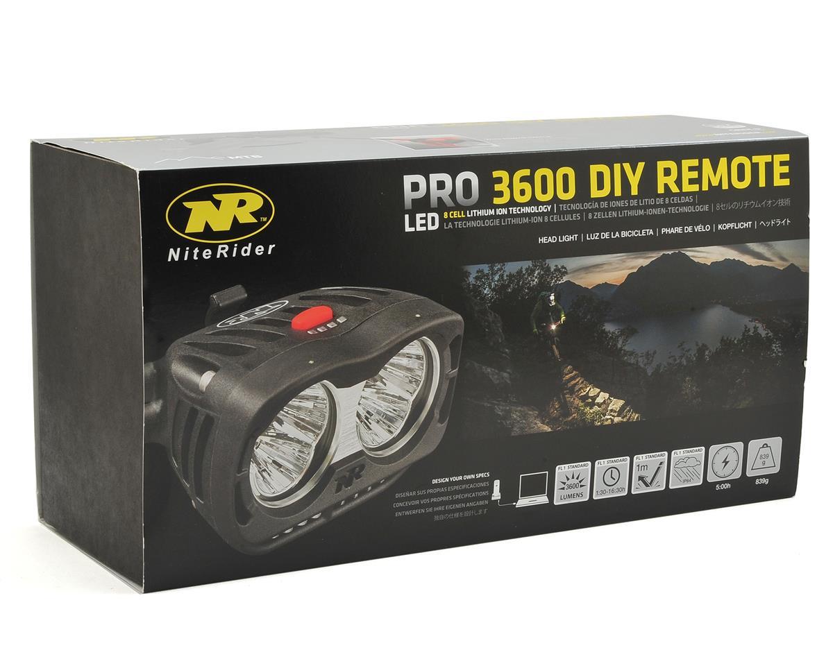 NiteRider Pro 3600 DIY LED Remote Head Light
