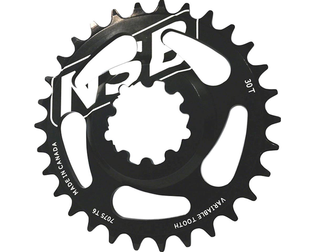 North Shore Billet Direct Mount Variable Tooth Chainring: 26T, for SRAM X9/X0 Cr