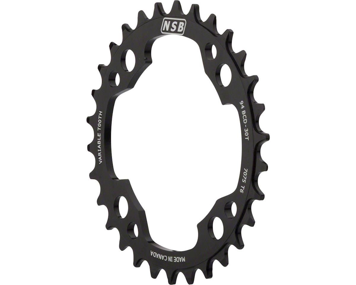 North Shore Billet Variable Tooth Chainring: 30T x 94mm BCD, for SRAM X01 Cranks
