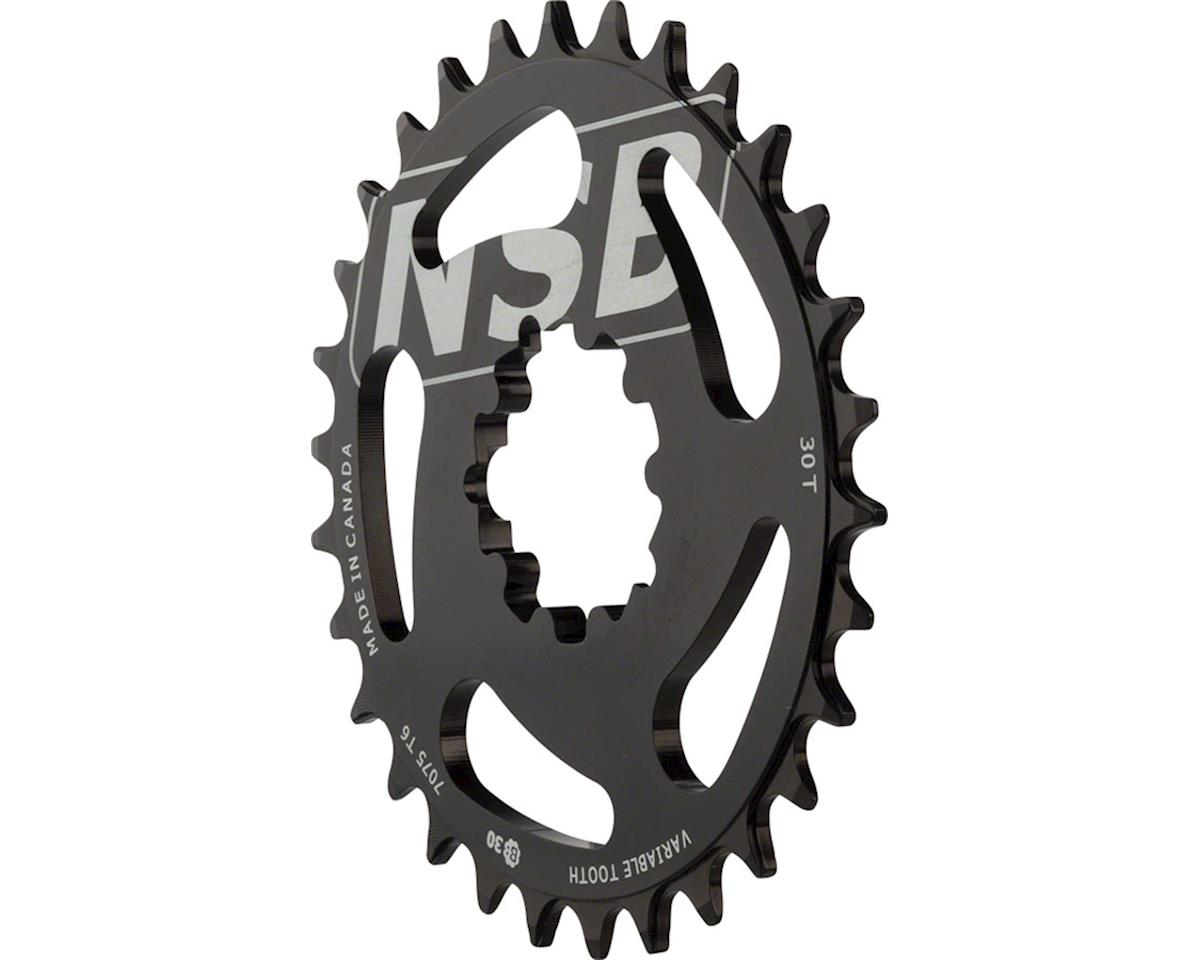 North Shore Billet Direct Mount Variable Tooth Chainring: 30T, for SRAM X9/X0 Cr