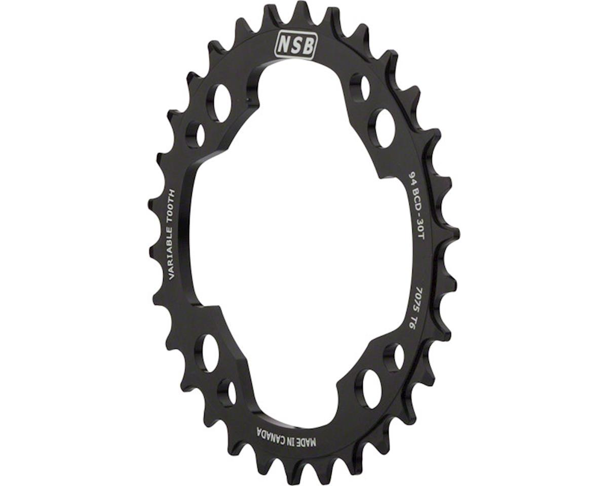 North Shore Billet Variable Tooth Chainring: 32T x 94mm BCD, for SRAM X01 Cranks