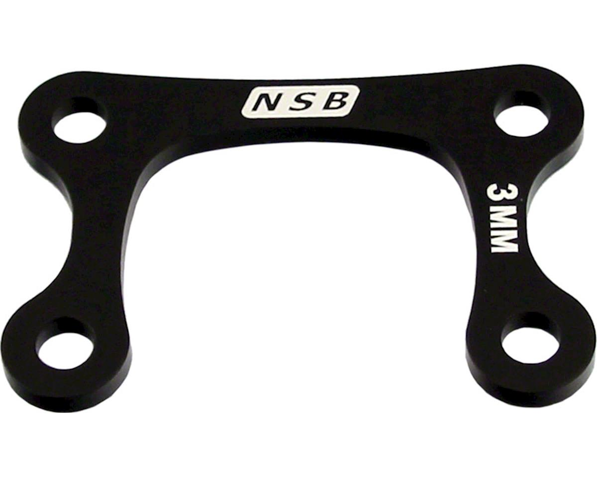 North Shore Billet Direct Mount Stem Stack Spacer 4mm Black