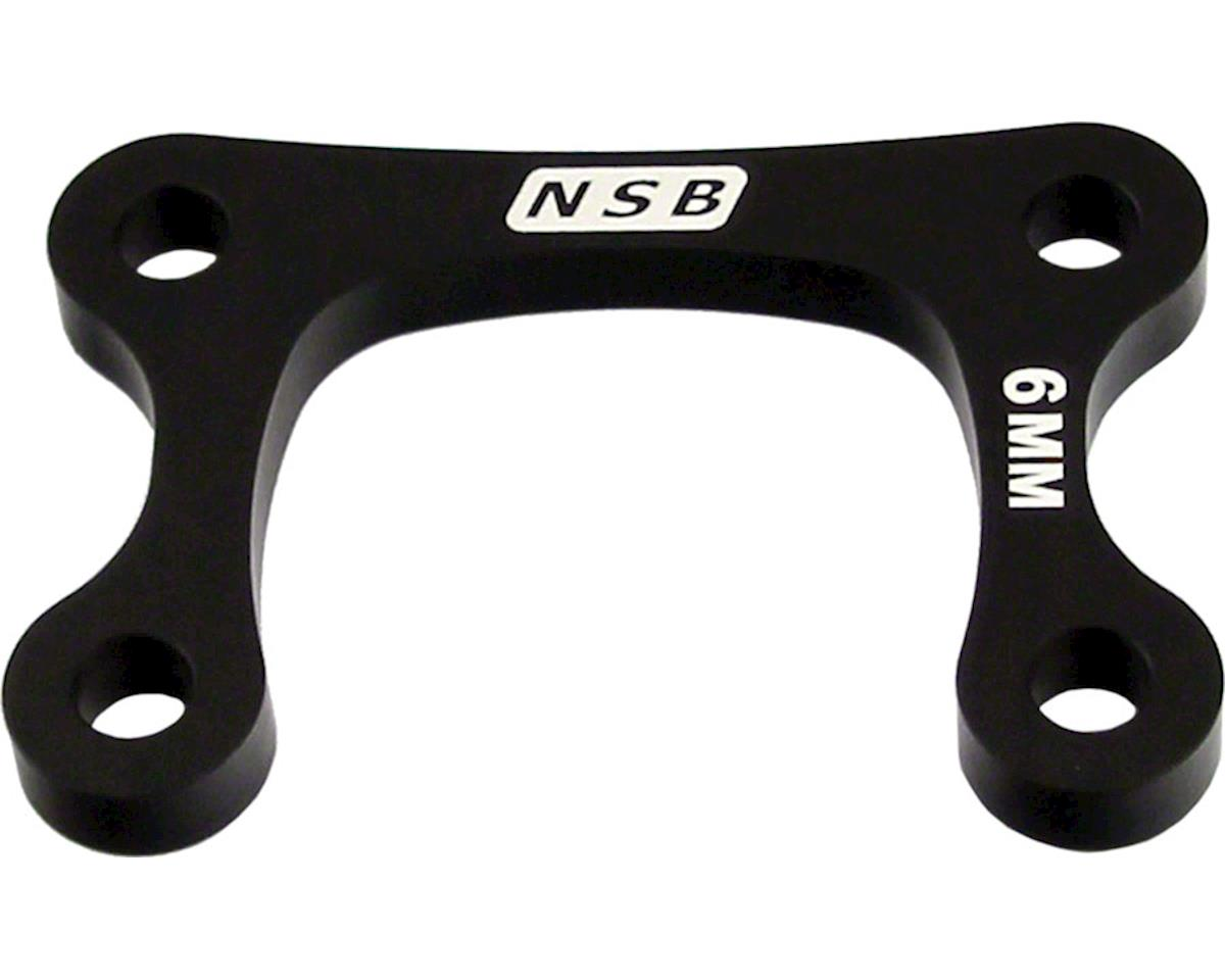 North Shore Billet Direct Mount Stem Stack Spacer 6mm Black