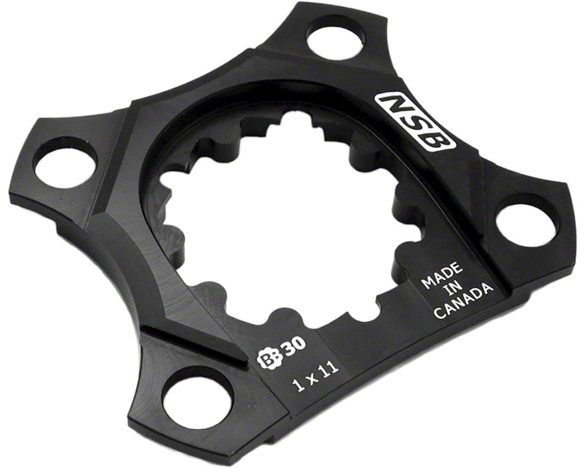 North Shore Billet 76bcd 1x11 Spider For SRAM X9 BB30 Cranks Black