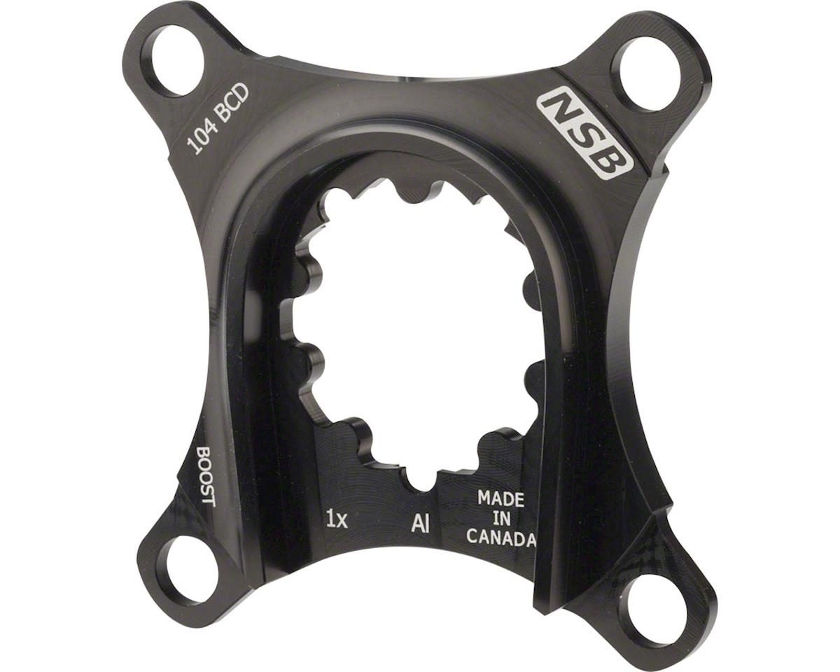North Shore Billet 1x Spider for SRAM X9 Alloy Cranks: 104 BCD Boost Chainline S