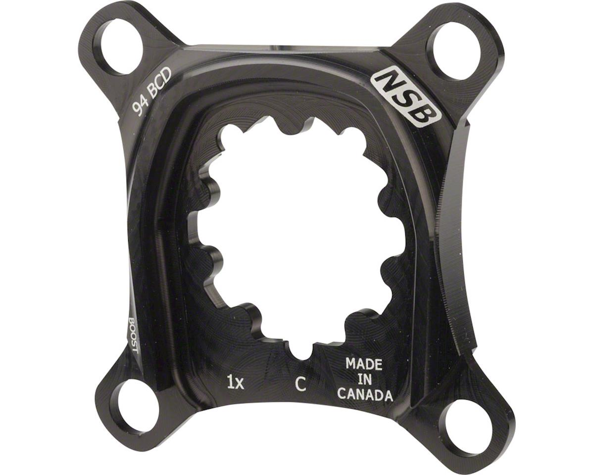 North Shore Billet 1x Spider for SRAM XO Carbon Cranks: 94 BCD Boost Chainline S