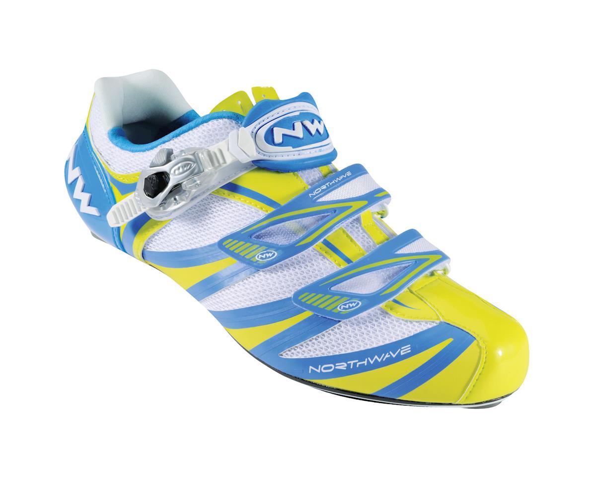 Image 1 for Northwave Evolution SBS Road Shoes (White/Black)