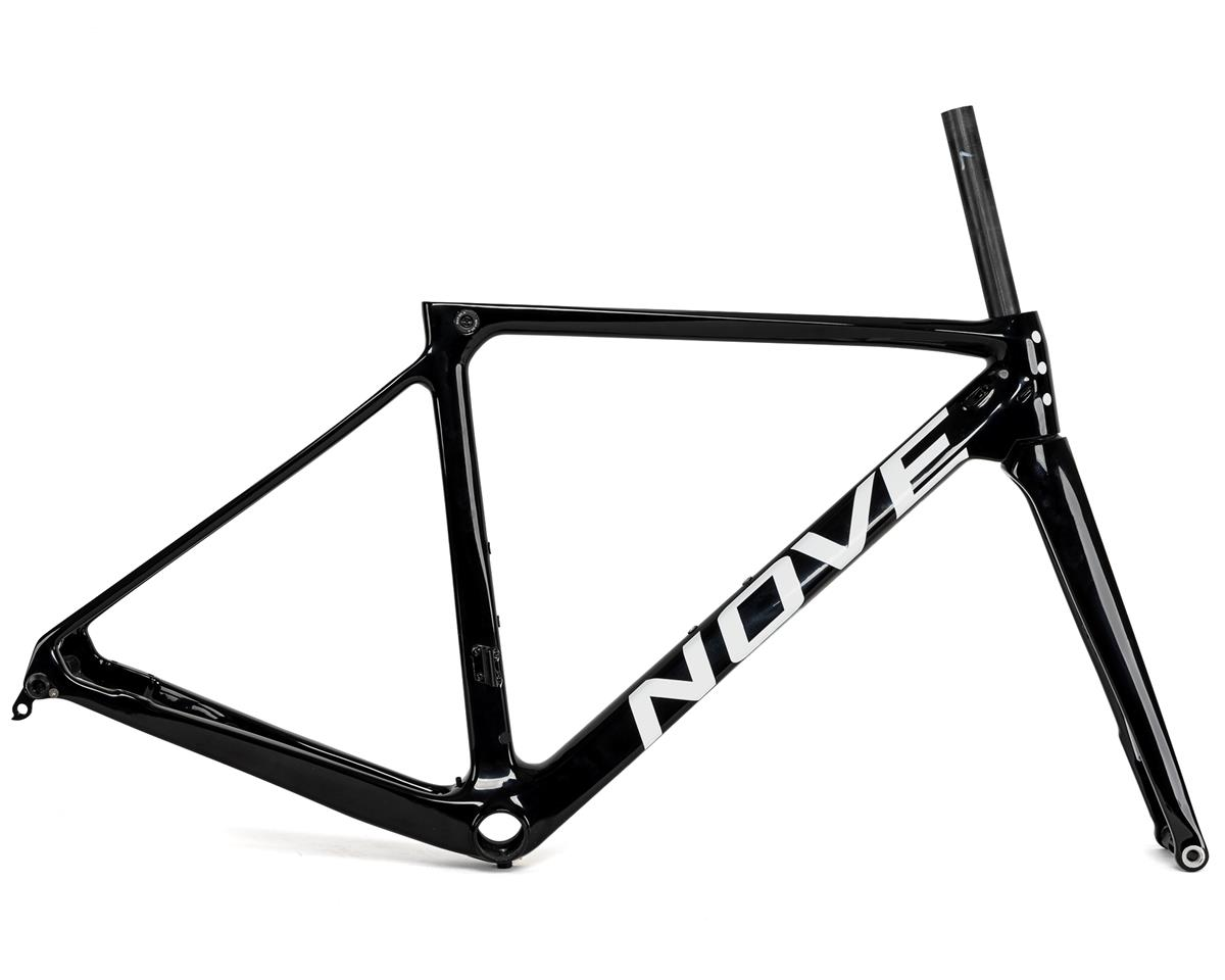 Nove Race Disc Frameset (Gloss Black/White Logo) (S)