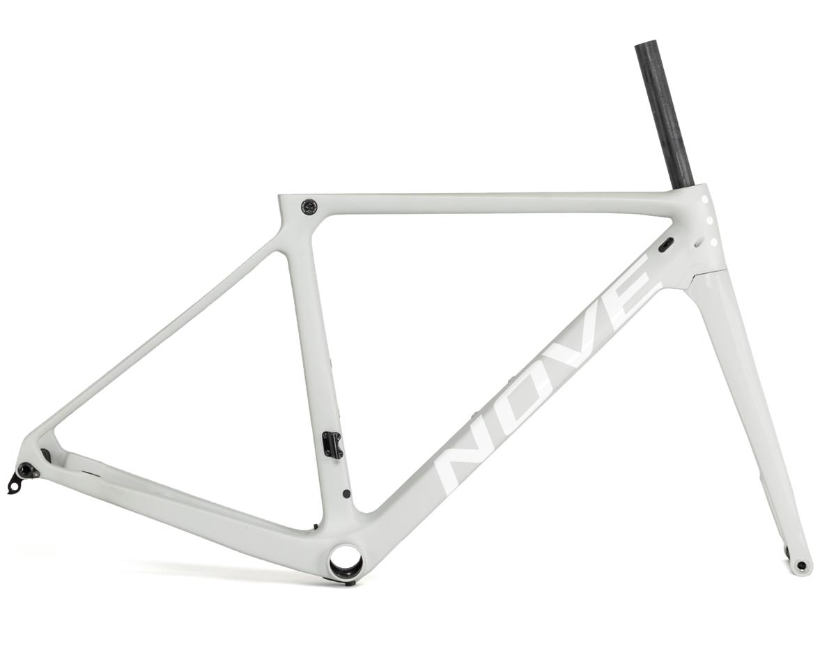 Nove Race Disc Frameset (Matte Grey/White Logo) (XL)