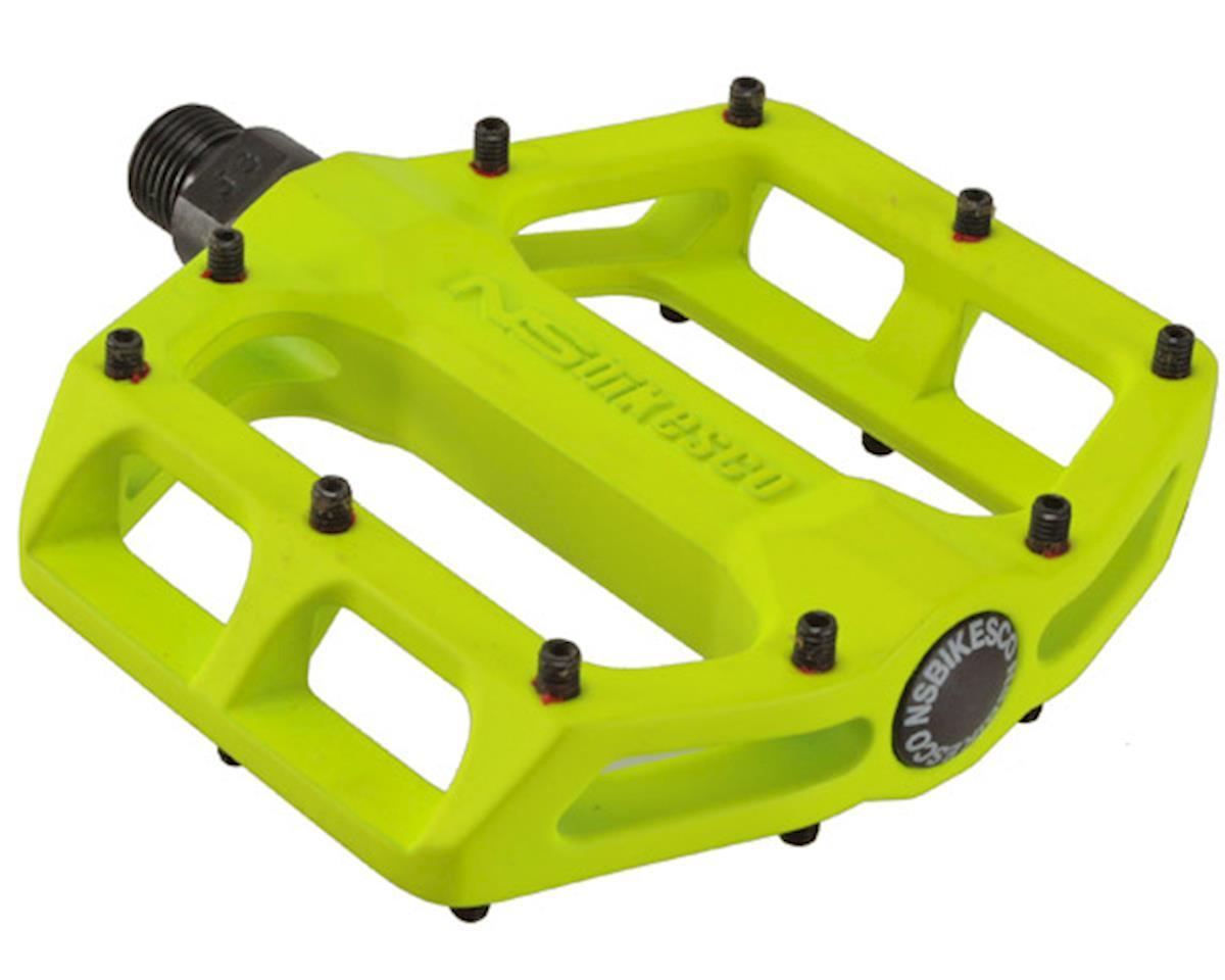 lemon lime NS Bikes Aerial LB platform pedals