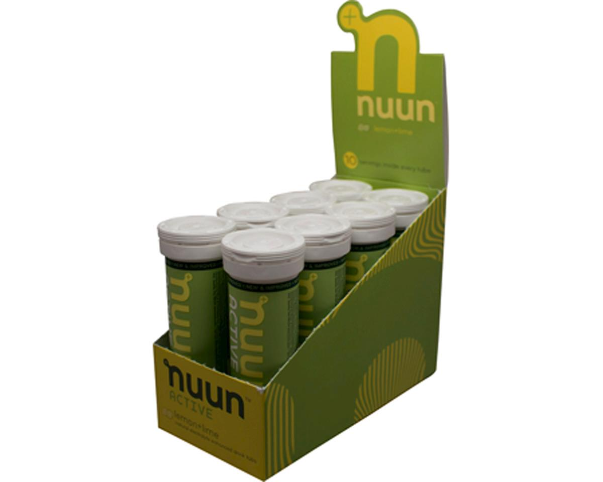 Nuun Sport Hydration Tablets (Lemon Lime) (8 Tubes)