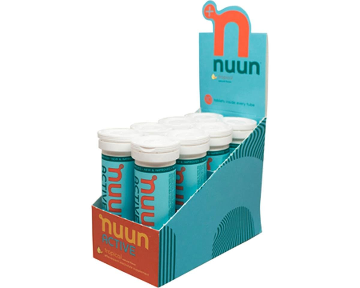 Nuun Sport Hydration Tablets (Tropical Fruit) (8 Tubes)