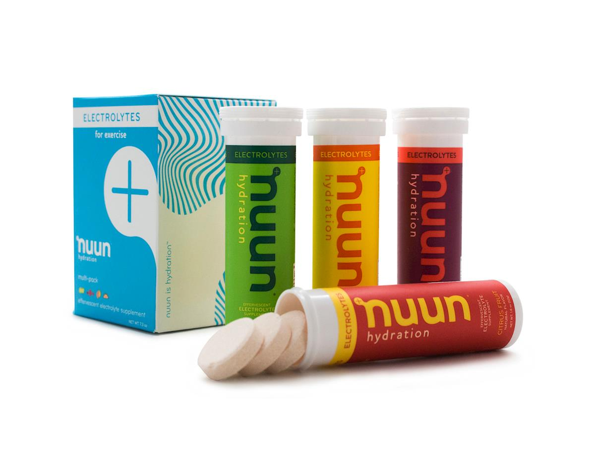 Nuun Electrolytes Hydration Tablets (Original Mixed Pack) (4 Tubes)