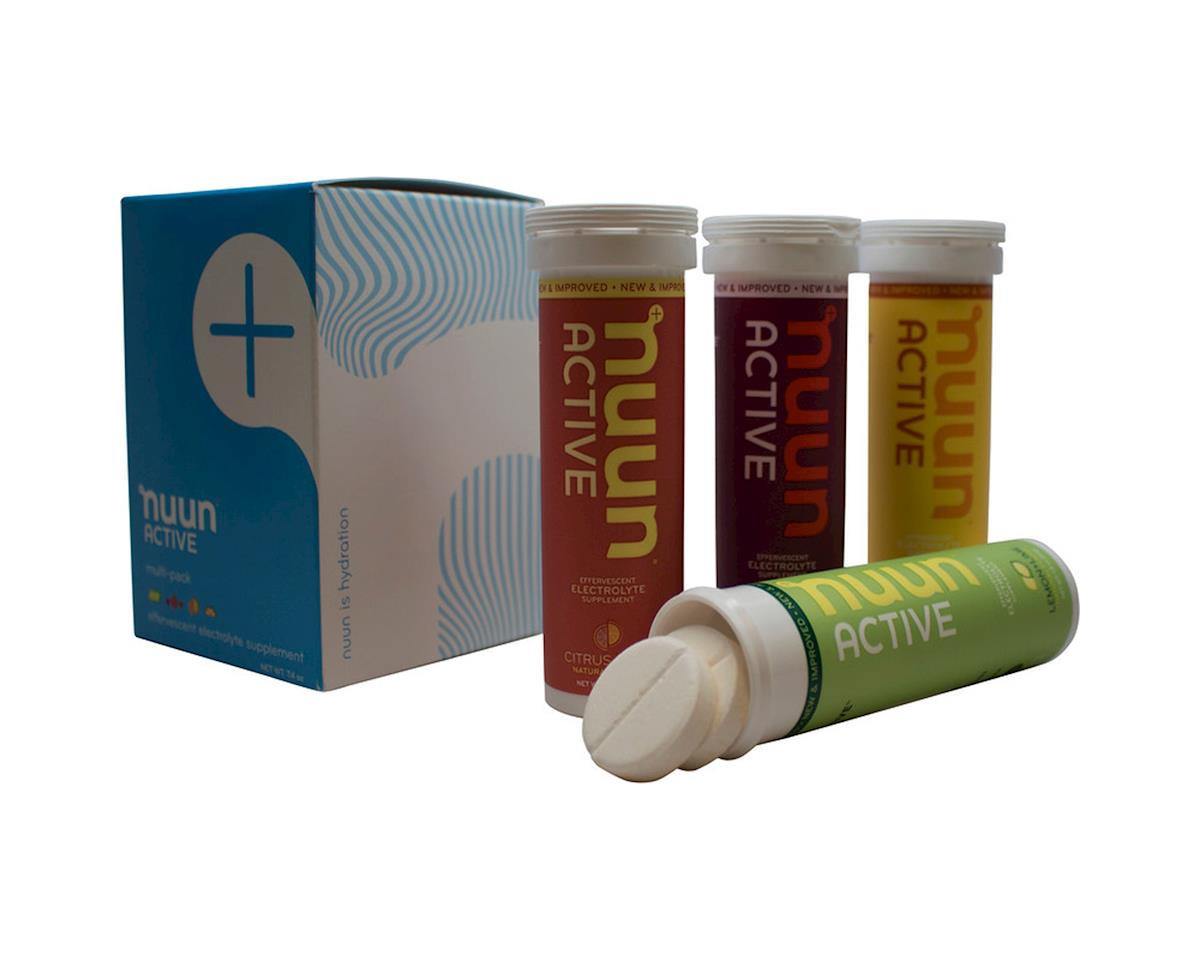 Nuun Sport Hydration Tablets (Original Mixed Flavors) (4 Tubes)
