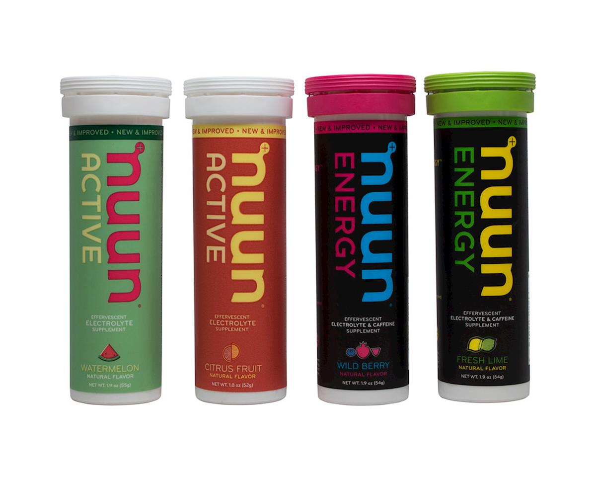 Nuun Hydration Tablets (People for Bikes Mixed Pack) (4 Tubes)