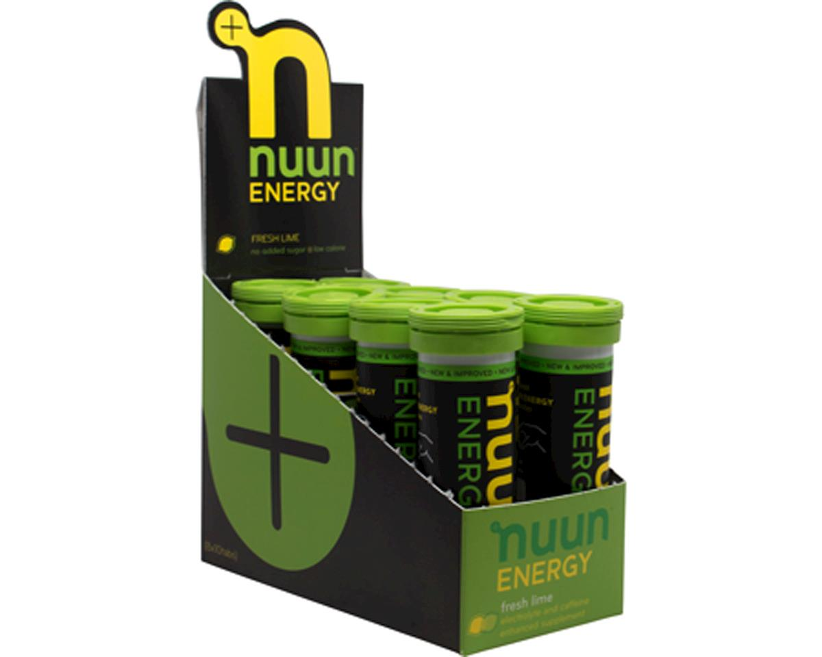 Nuun Sport Hydration Tablets ( Fresh Lime + Caffine) (8 Tubes)