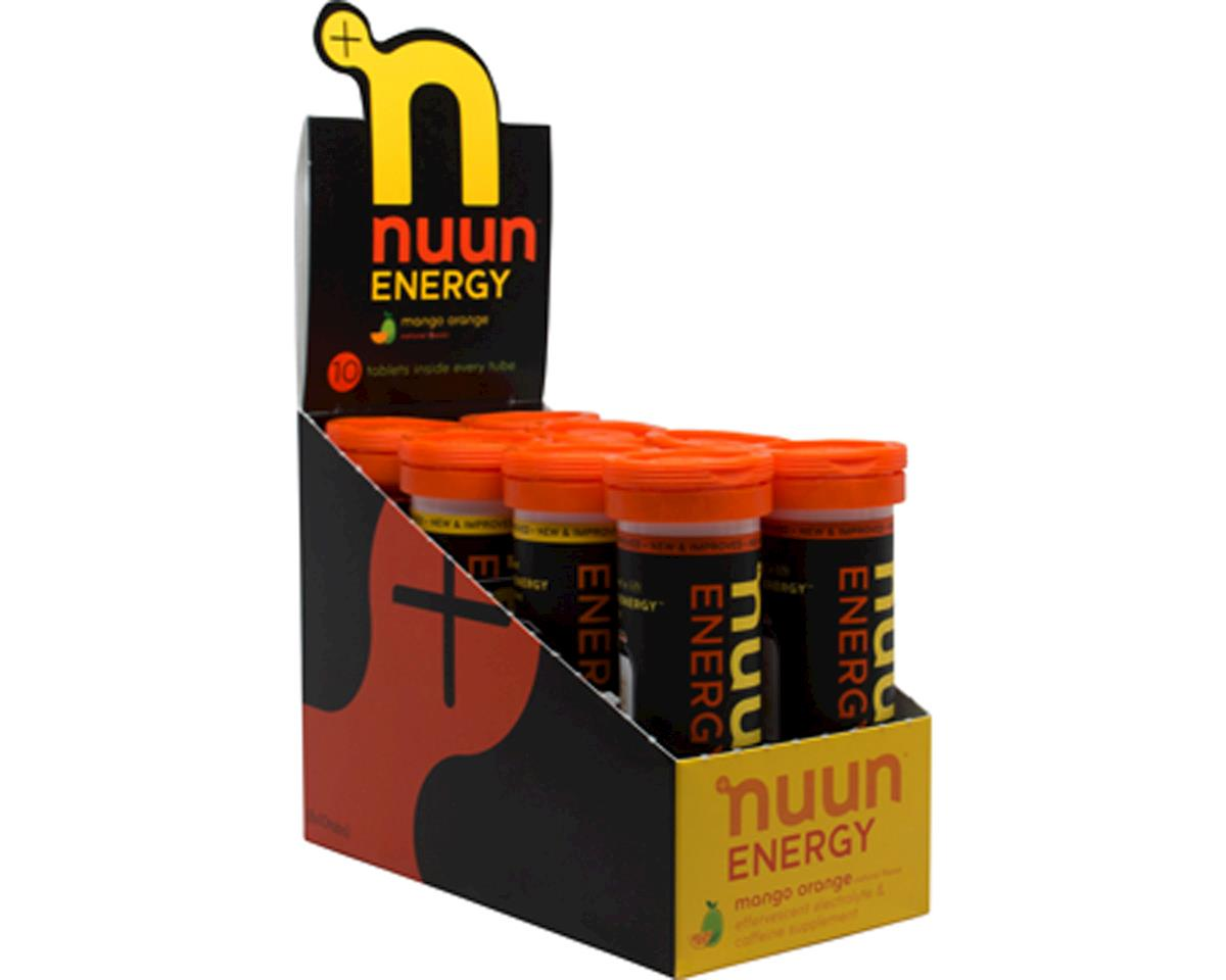 Nuun Sport Hydration Tablets (Mango Orange + Caffine) (8 Tubes)
