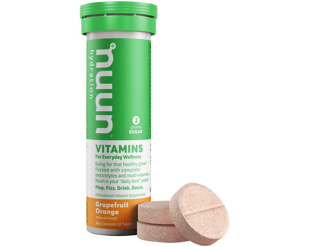 Image 2 for Nuun Vitamin Hydration Tablets (Grapefruit Orange) (8 Tubes)