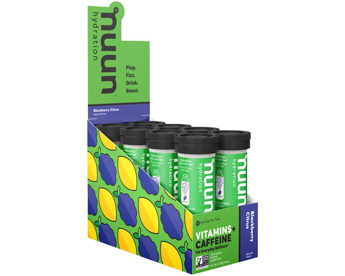 Nuun Vitamin Hydration Tablets (Blackberry Citrus + Caffeine) (8 Tubes)