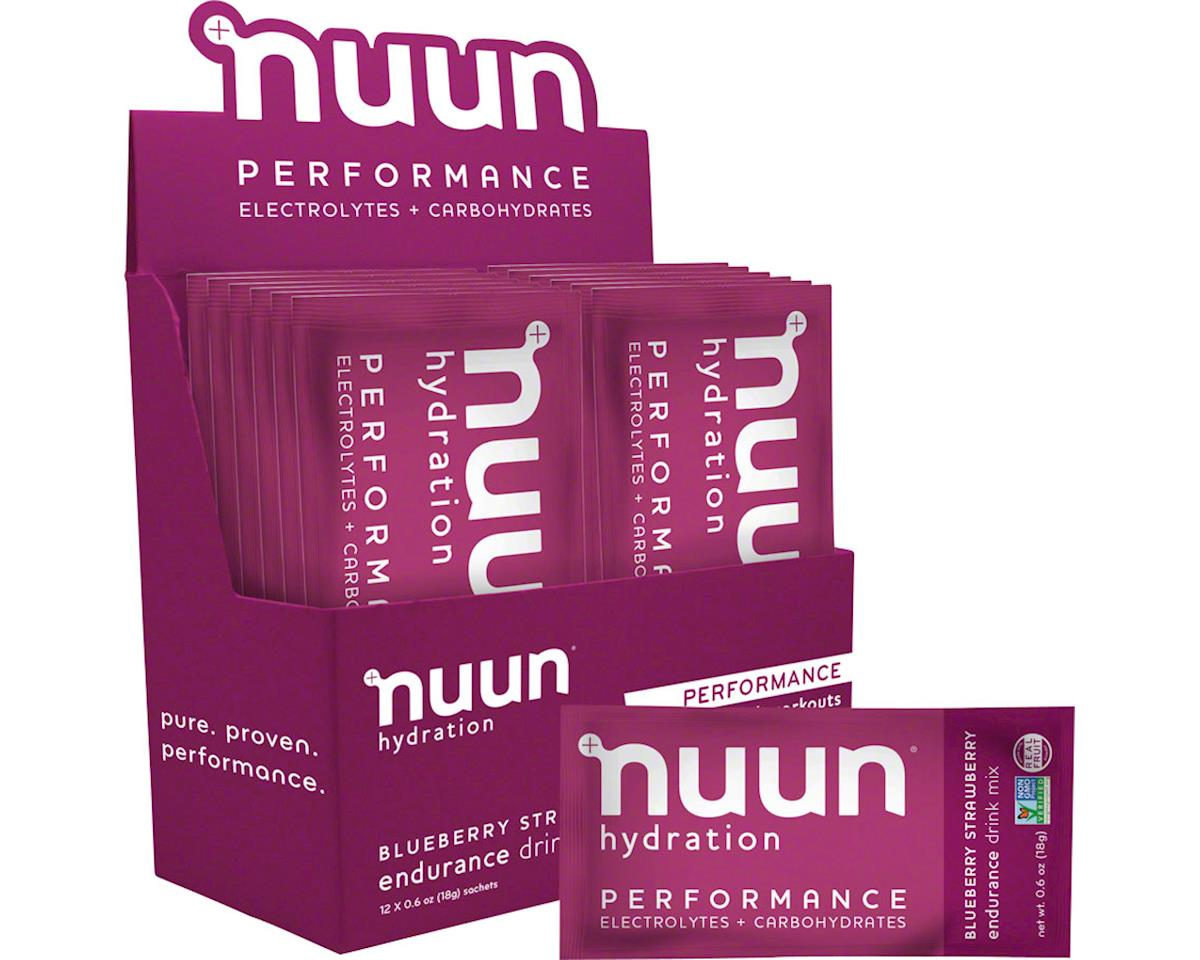 Nuun Performance Hydration Blueberry Strawberry Packets (12)