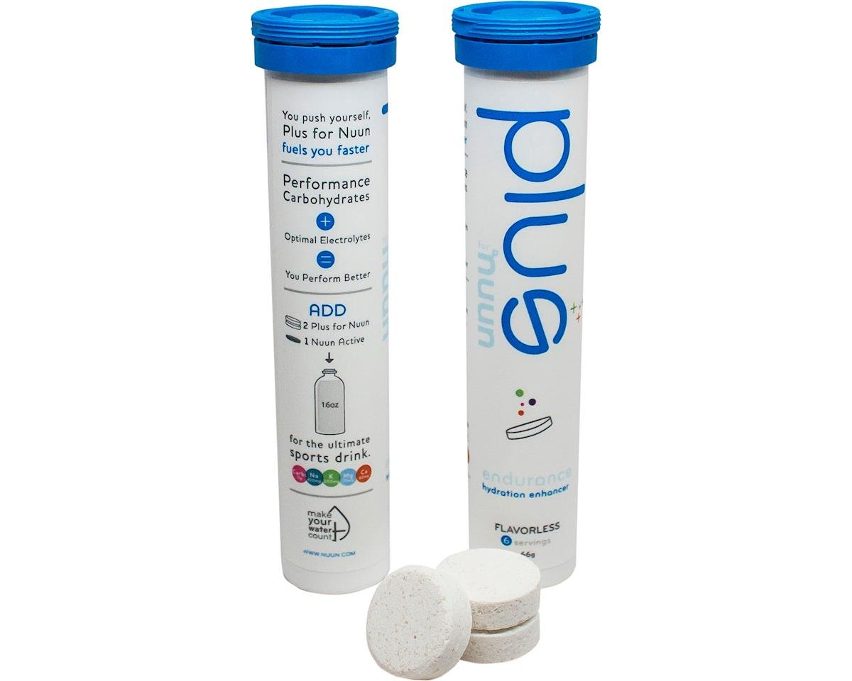 Plus for Nuun - Single Tube (6 Serving) (Clear)