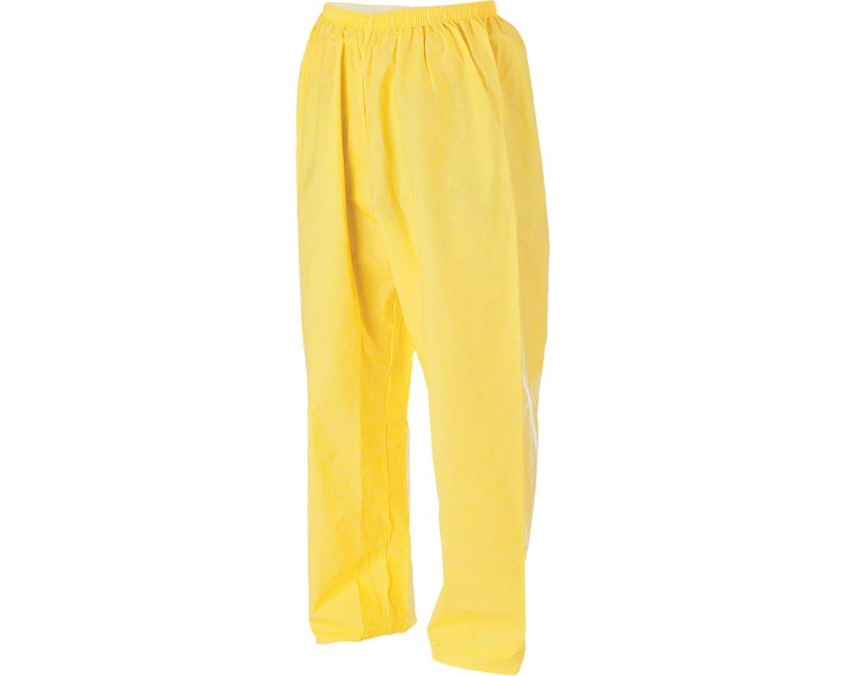 O2 Rainwear Rain Pant: Yellow 2XL (M)