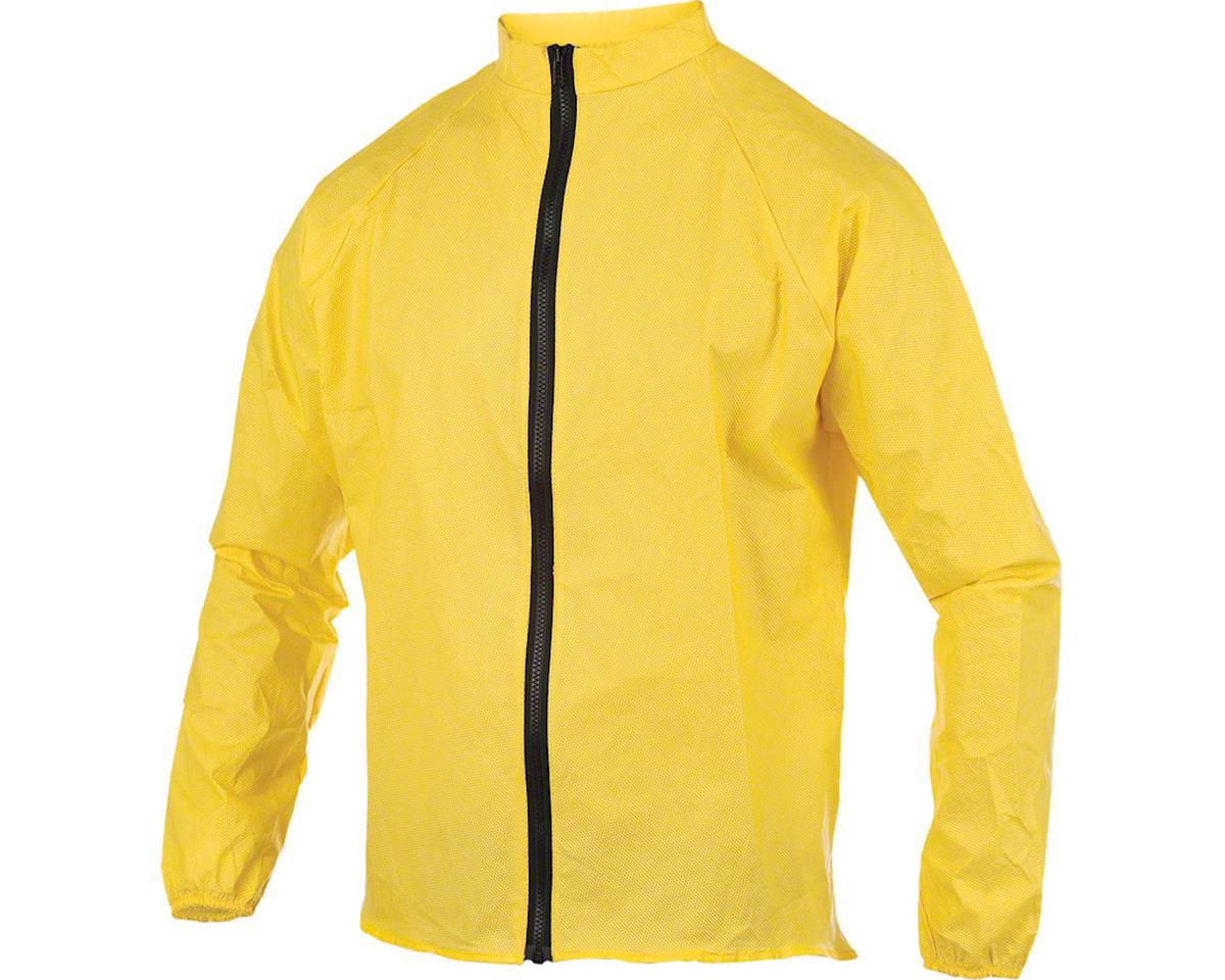 Rainwear Cycling Rain Jacket: Yellow 2XL