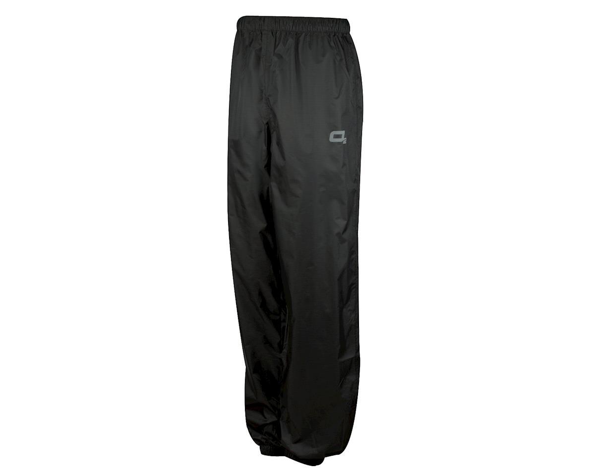 O2 Rainwear Calhoun Rain Pant: Black 2XL (M)