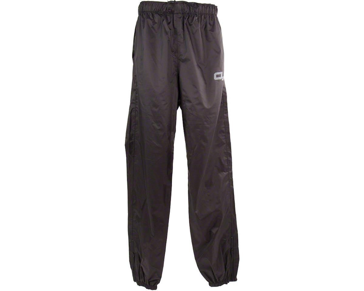 O2 Rainwear Calhoun Rain Pant: Black 2XL (XL)