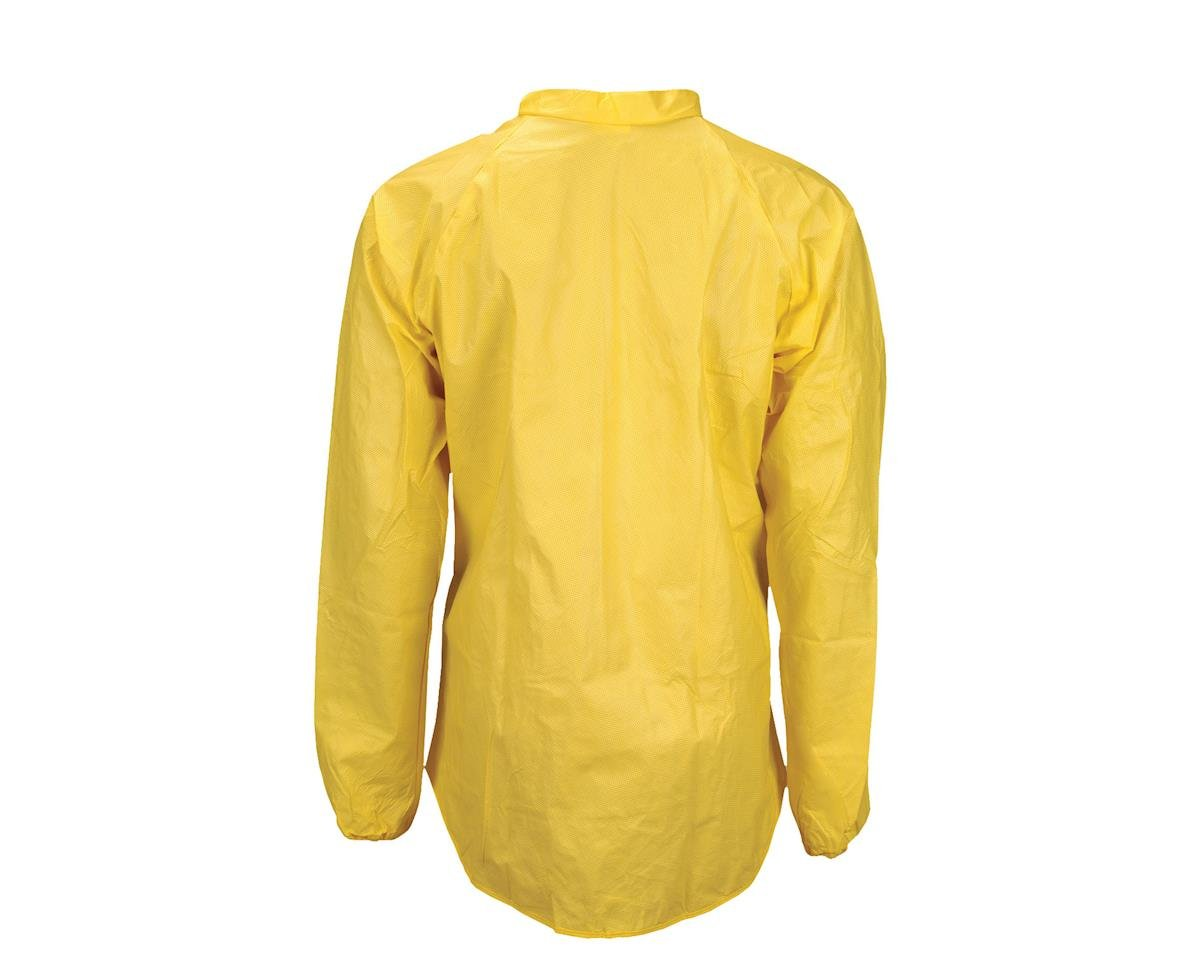 O2 Rainwear Cycling Rain Jacket (Yellow) (XL)