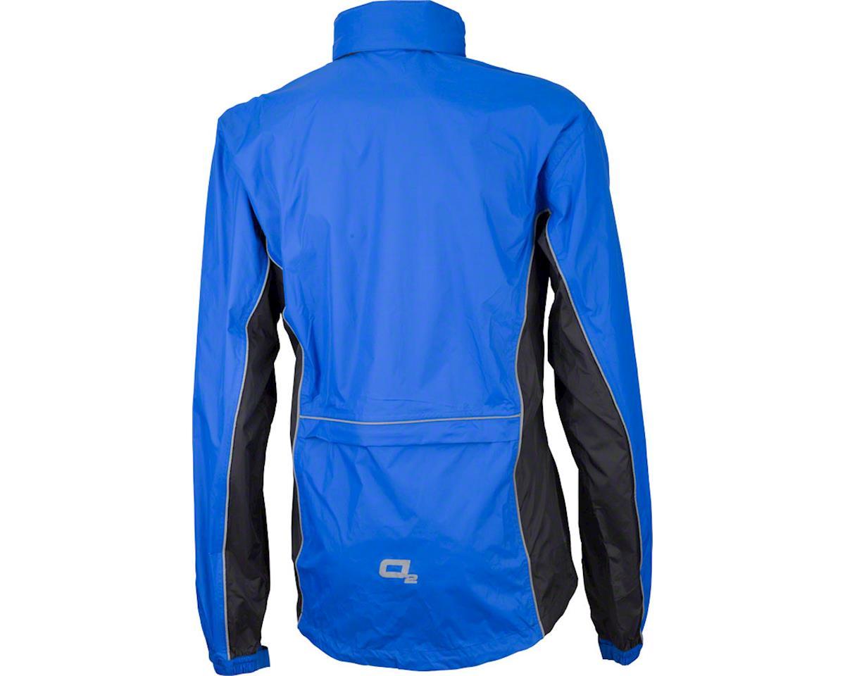 Image 2 for O2 Rainwear Primary Rain Jacket w/ Hood (Royal Blue) (M)