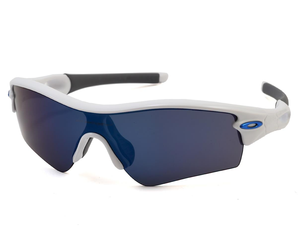 Oakley Radar Path Sunglasses (Polished White) (Ice Iridium Lens)