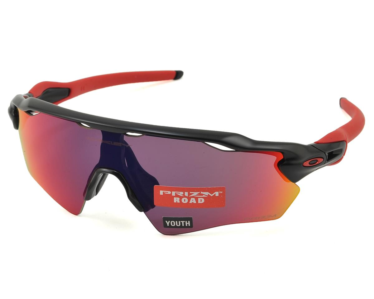 Oakley Radar EV XS Sunglasses (Matte Black) (PRIZM Road Lenses)
