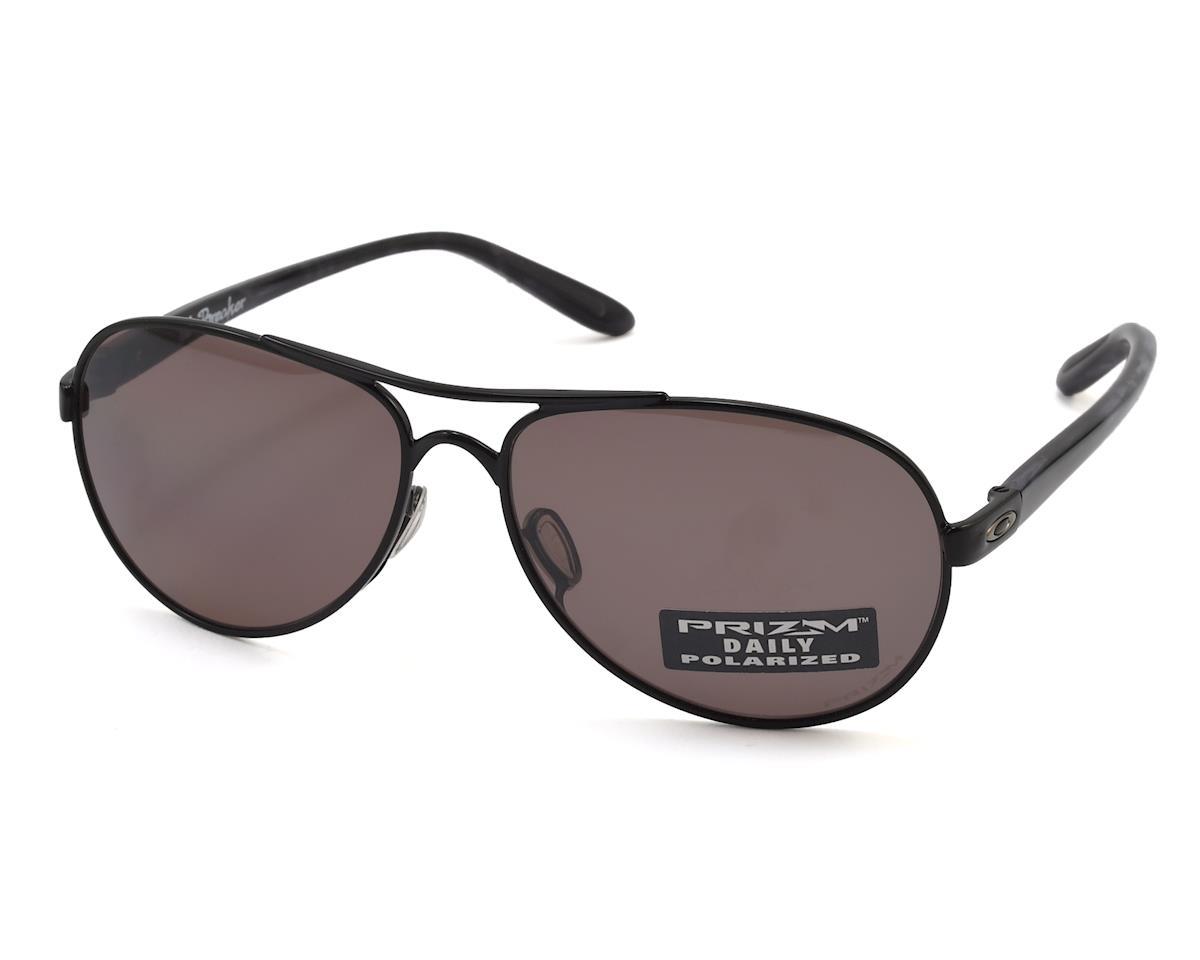 82d1684cd38 Oakley Tie Breaker Women s Polarized Sunglasses (Black)  OO4108-11 ...