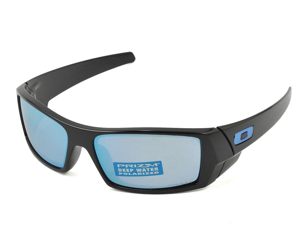 Oakley Gascan Sunglasses (Polished Black) (Prizm Deep H2O Lenses)