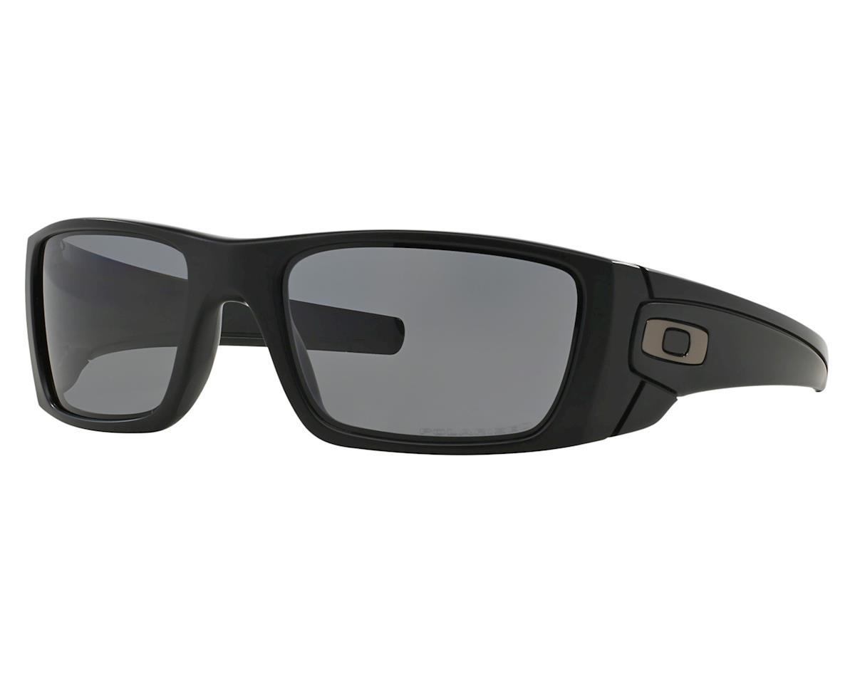 Oakley Fuel Cell Sunglasses (Matte Black) (Grey Polarized Lenses)