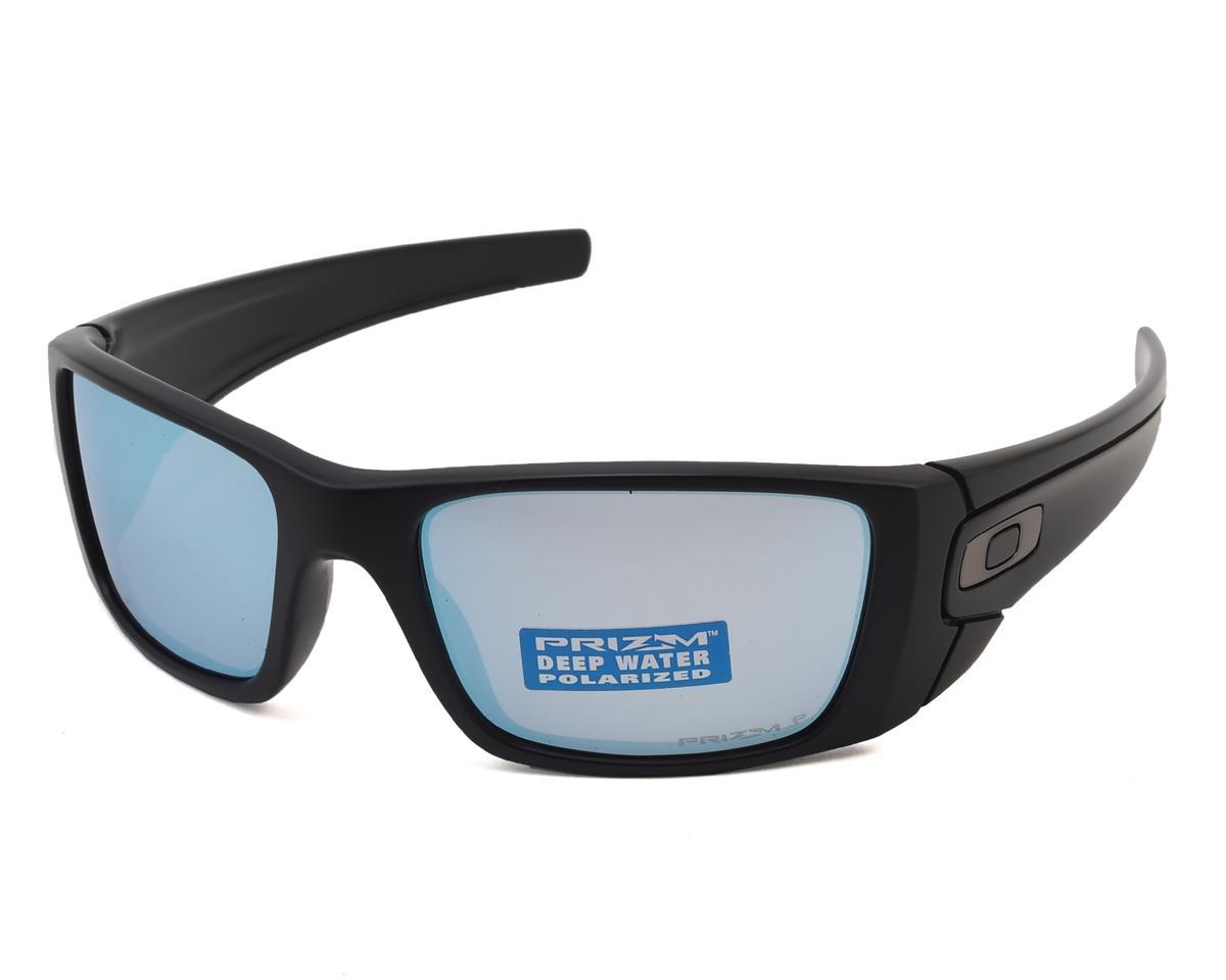 a528f40396 Oakley Fuel Cell Sunglasses (Matte Black w Prizm Deep Water Polarized Lens)   OO9096-D8