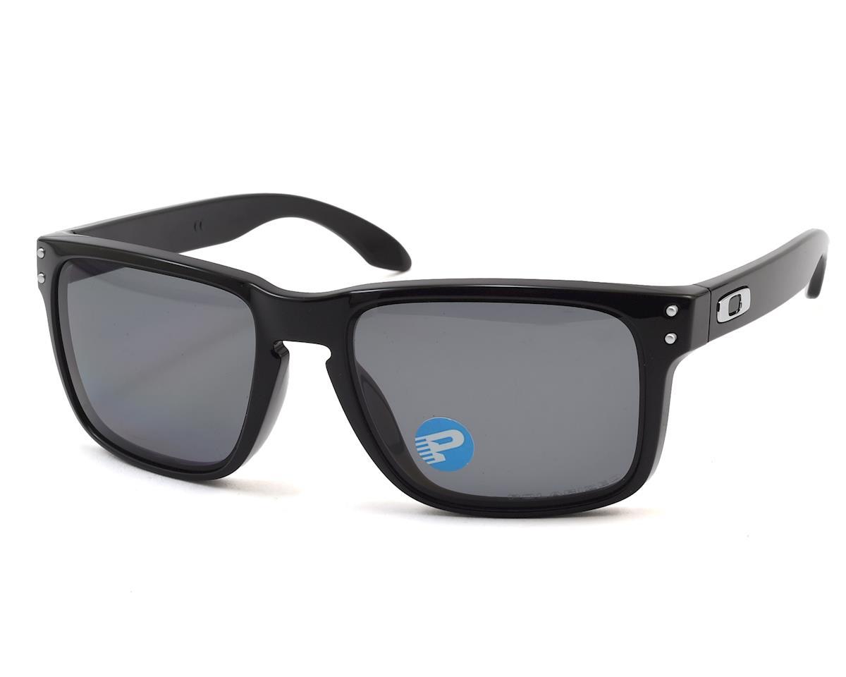 da8354fa3d Oakley Holbrook Polished Black w Grey Polarized  OO9102-02 ...