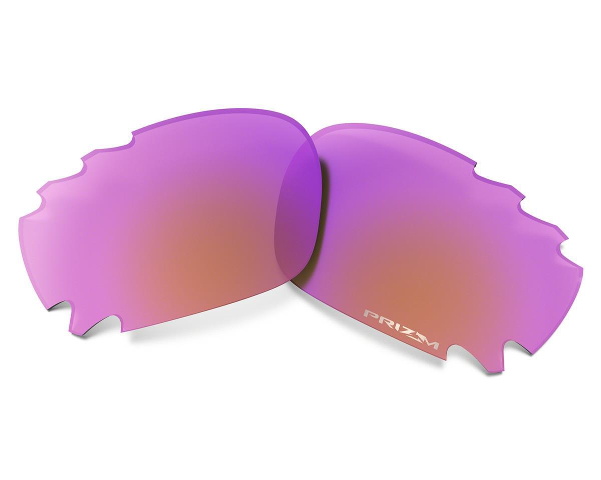 Oakley Racing Jacket Sunglasses (Carbon) (PRIZM Trail Lenses)