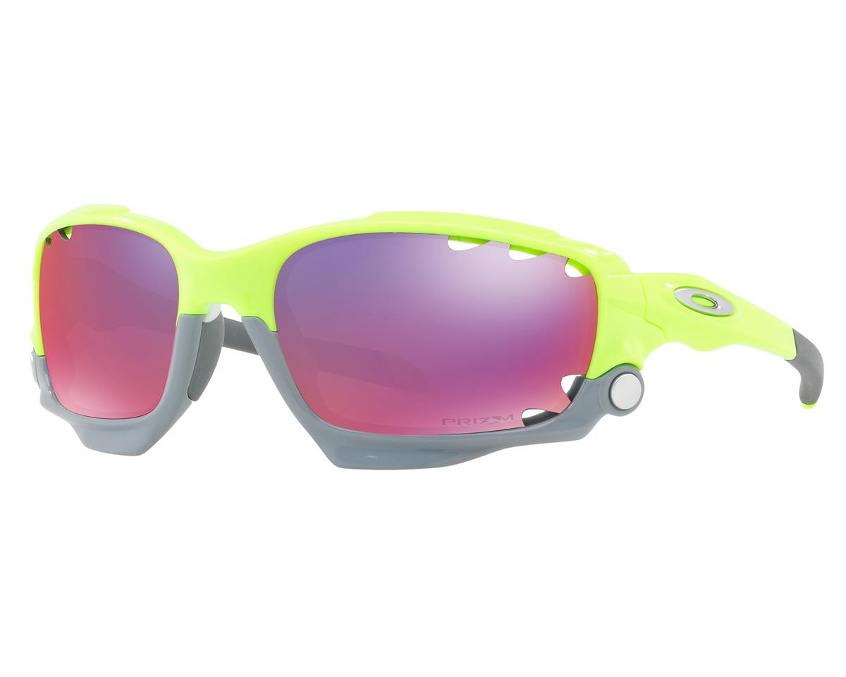 Oakley Racing Jacket Sunglasses (Retina Burn) (PRIZM Road Lenses)